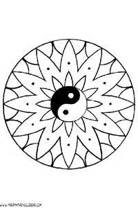 imagenes de mandalas simples para colorear mandalas para colorear dibujos mandalas simples 008