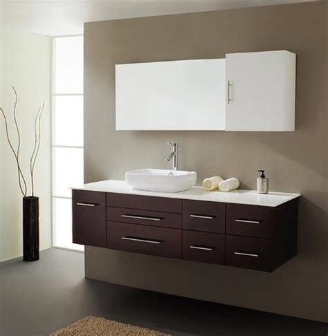Minimalist Vanity by Stylishly Simple Minimalist Wall Mounted Bathroom Vanities