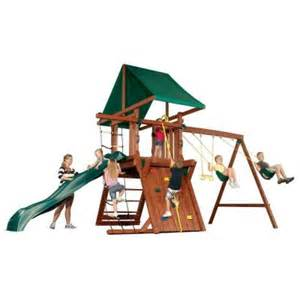 home depot swing set swing n slide playsets jupiter redwood premier play set pb