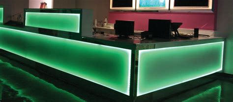 Lighted Bar Top by Liquor Display Bar Shelves Bottle Display Led