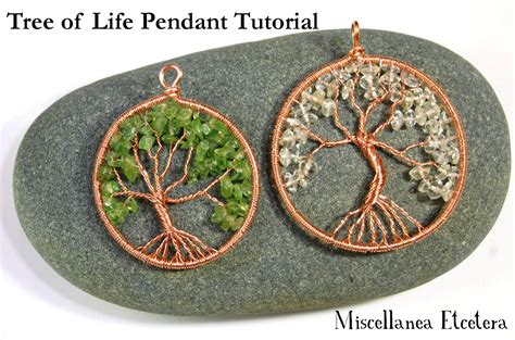 how to make tree of jewelry miscellanea etcetera jewelry tutorial tree of pendant