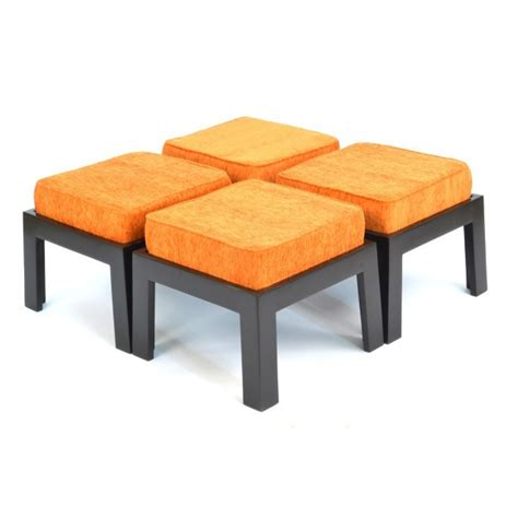 Coffee Table Stools by Safron Coffee Table With Four Stools Skarabrand