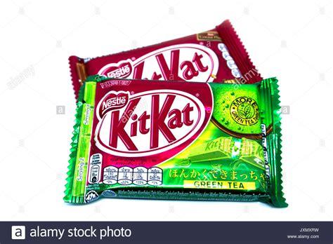 Kitkat Green Tea Malaysia kitkat chocolate stock photos kitkat chocolate stock