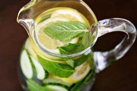 Lemon Mint Cucumber Detox Weight Loss by Belly Slimming Detox Water
