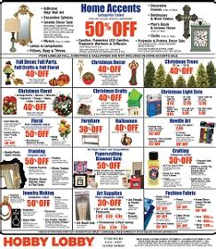 Hobby Lobby Gift Cards Walgreens - hobby lobby weekly sale ad