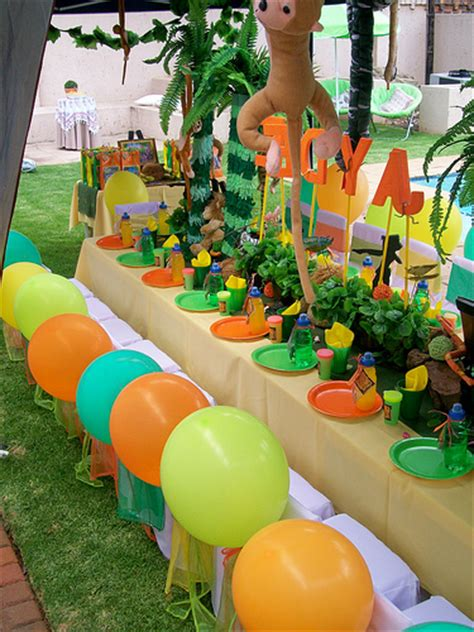 jungle book themed birthday party quot jungle book quot party treasures and tiaras kids parties