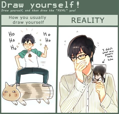 draw yourself draw yourself meme by cioccolatodorima on deviantart