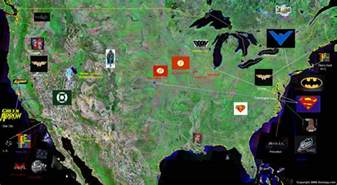 us map dc universe a fan atlas of the usa by catrionamalfoy on deviantart