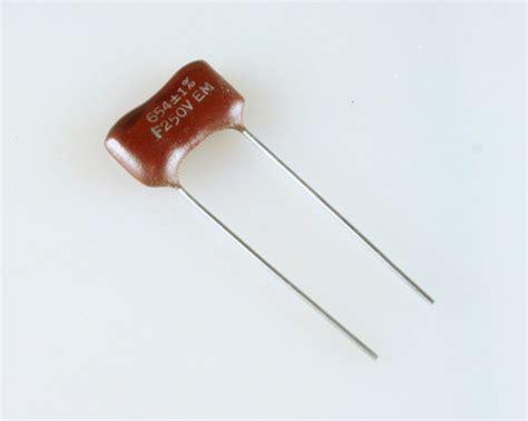 capacitor silver 654f250v elmenco capacitor 654pf 250v silver mica dipped 2020025481