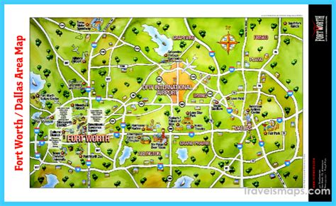 map of dallas and suburbs map of dallas fort worth travelsmaps