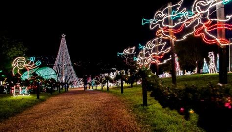 marble falls walkway of lights light up your holidays with a visit to marble falls
