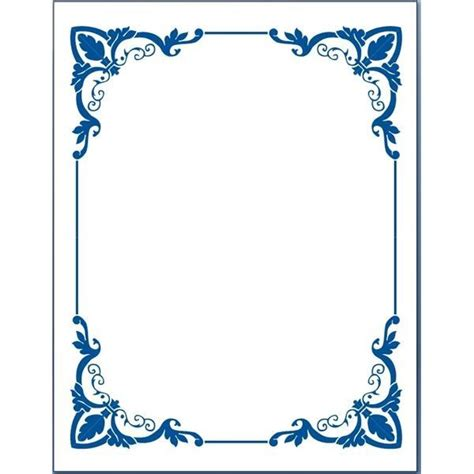 frame design for microsoft word free clip art borders for word documents