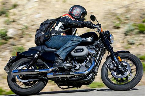 hd review ride harley davidson roadster and visordown