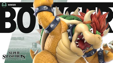 super smash bros ultimate bowser wallpapers cat  monocle