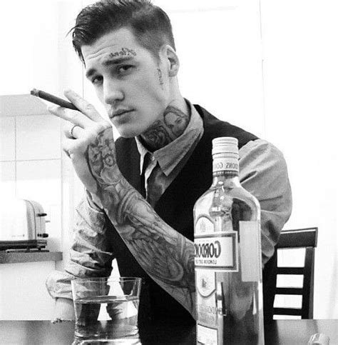 guys with tattoos 25 tattooed guys with amazing hairstyles