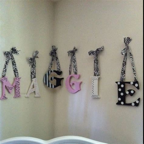 Baby Letters For Nursery