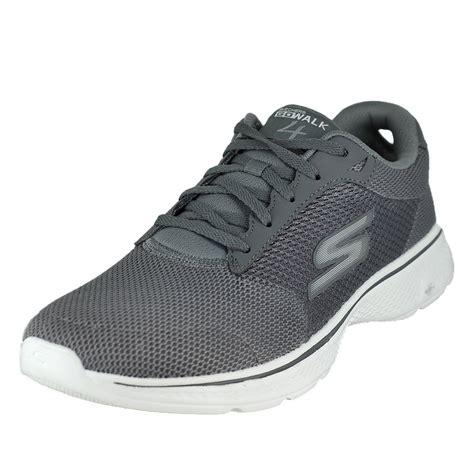 All New Skechers Go Walk 4 Ekspert Original Alas Gogamax Empuk skechers go walk 4 charcoal mens walking size 11 5m ebay