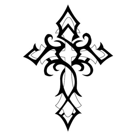 cross tattoo with tribal background 25 best ideas about celtic tribal tattoos on