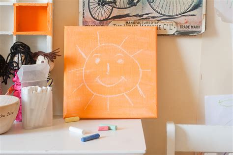 diy chalkboard thought diy chalkboard paint and canvas make and takes