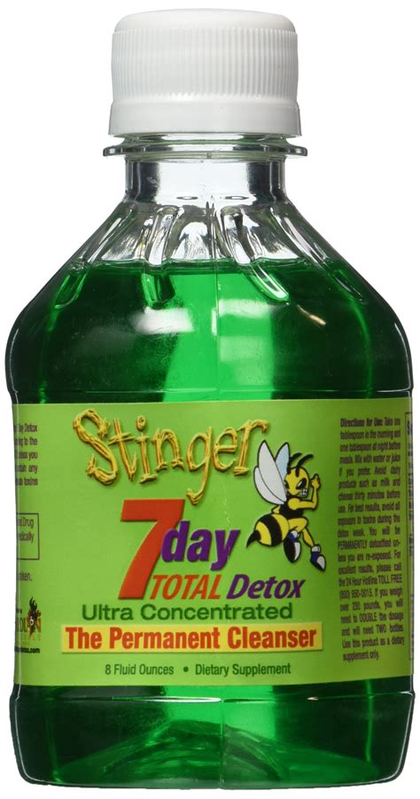 Total Detox Strength by 2 Stinger The Buzz 5x Strength 1 Hour Total