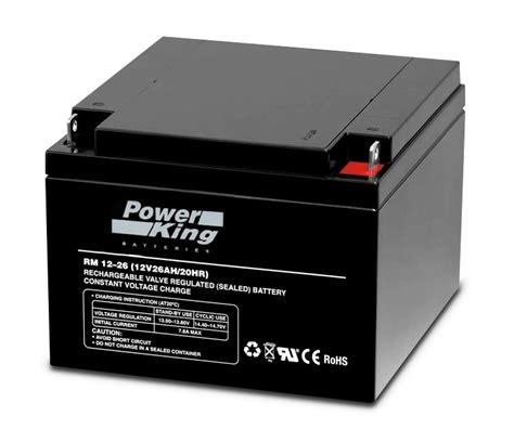 12v 26ah home alarm battery