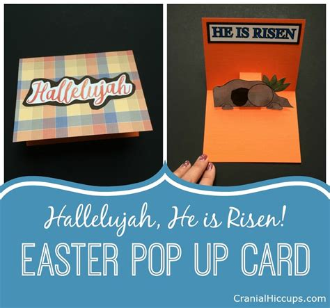 Pop Up Card 1 easter pop up card nesting easter envelopes cranial hiccups