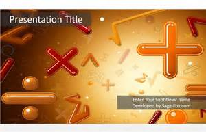 math templates for powerpoint math powerpoint template 5057 free powerpoint math