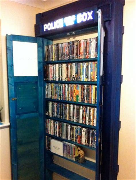 Closet Dvd by Things 187 Archive 187 Amazing Tardis Dvd Closet