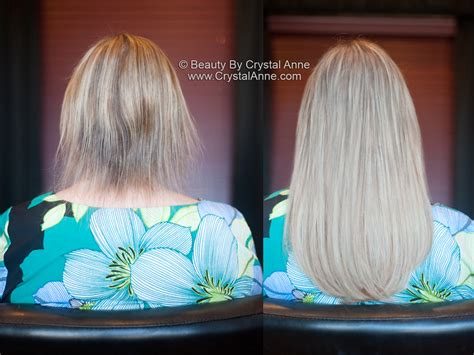 thin hair after extensions add length and volume to fine hair with hairdreams