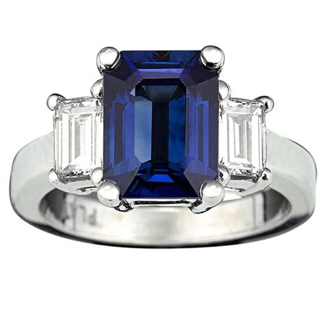 Sapphire 135 Carats sapphire and ring 3 08 carats for sale at 1stdibs