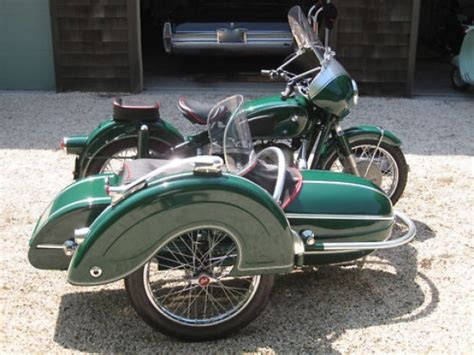 Bmw Motorcycle With Sidecar For Sale by Boxer Brief 1957 Bmw R50 With Steib Sidecar Bring A Trailer