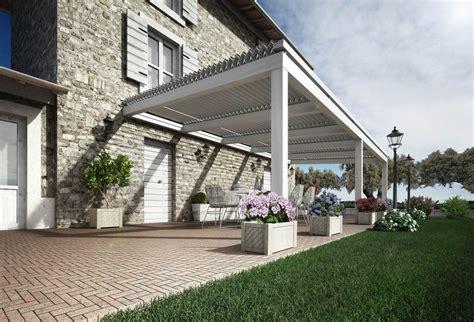 tettoia in legno per terrazzo tettoia in legno
