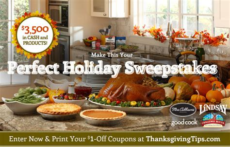 Holiday Cash Sweepstakes 2014 - challenge butter archives mojosavings com