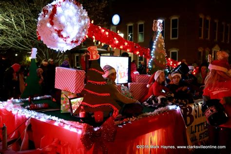 clarksville kicks off the christmas season with annual