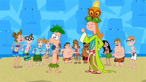 phineas and ferb backyard beach image lawn gnome beach party of terror75 jpg phineas