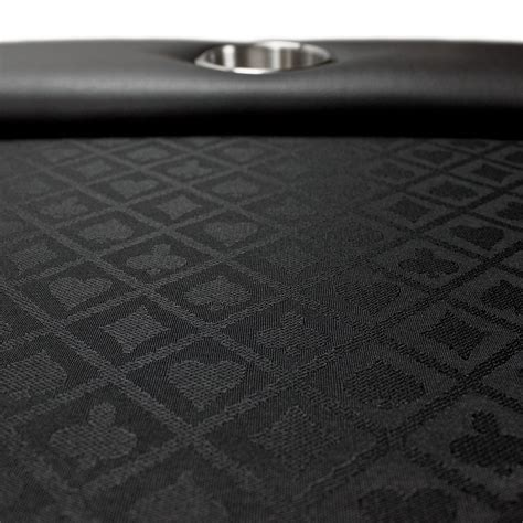 black suited speed cloth poker table casino poker tables