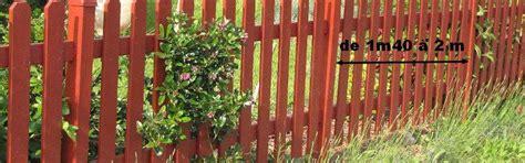 comment faire une cloture 4270 comment faire une cl 244 ture en bois au jardin