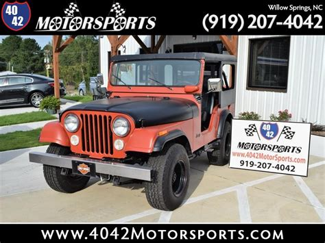 Jeeps For Sale In Nc by Used Jeeps For Sale Willow Springs Nc