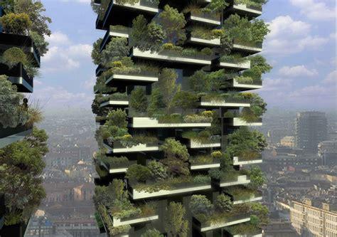 giardini in verticale bosco verticale di di stefano boeri il pi 249 bello