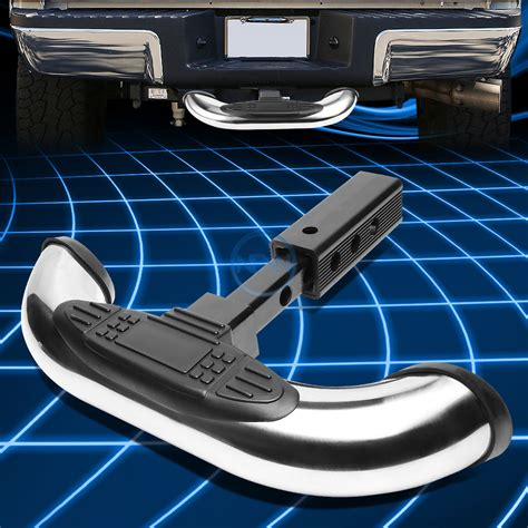 Towing Bar Bumper Guard Murah 1 25 2 quot stainless steel trailer hitch receiver cover rear