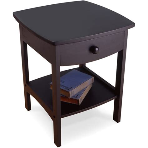 Nightstand Tables curved nightstand end table walmart