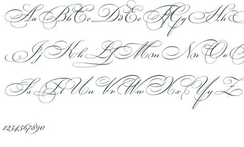 tattoo fonts pinterest fancy cursive fonts alphabet for tattoos fonts on