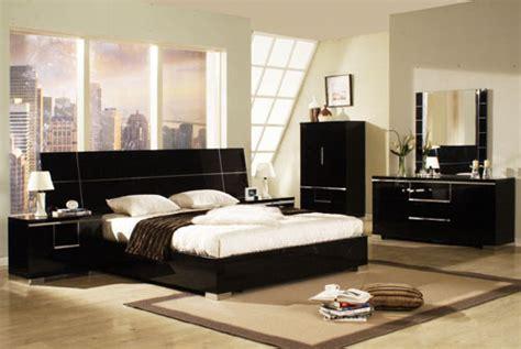 Glossy Bedroom Furniture Bedroom Furniture 35294 Black High Gloss Bedroom