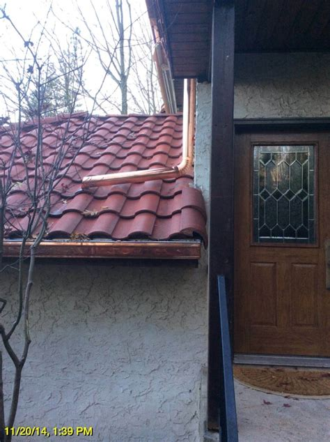 K Guard Heated Gutters - half copper gutters images