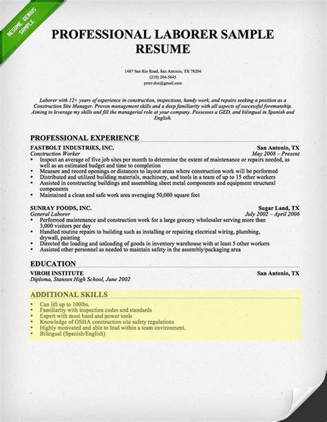 How To Write Skills On Resume by Resume Skills Ingyenoltoztetosjatekok