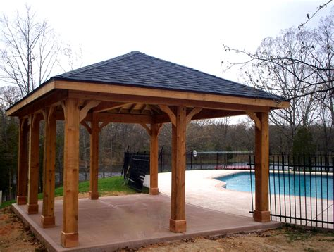 free standing patio covers designs