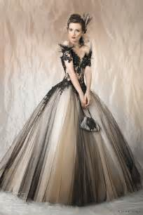 Black and color wedding gowns from the collection below ambre black