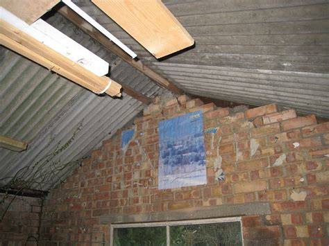 remove a corrugated cement asbestos garage roof roofing