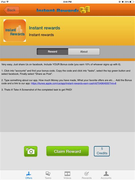 Earn Free Ebay Gift Card - download earn rewards for free cash its awesome u get ebay gift card and paypal