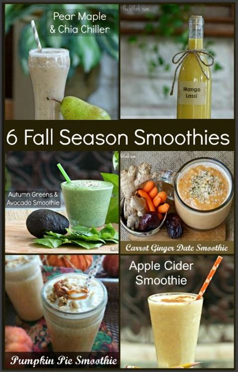 Fall Detox Smoothie Blender Required Pdf by Six Fall Season Smoothie Recipes Thefitfork